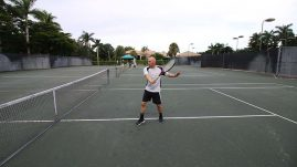 Backhand Drive Volley (2)