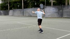Forehand Swinging Volley (2)