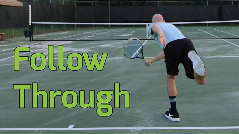 Follow through.