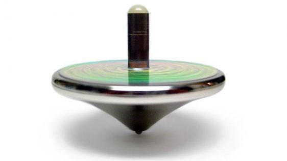 A spinning top.